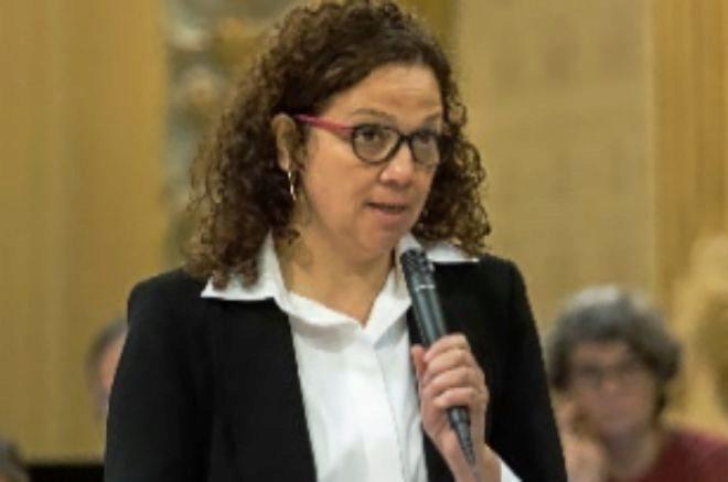 La consellera Cati Cladera.