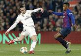 Gareth Bale y Nelson Semedo en el partido entre Real Madrid y FC...