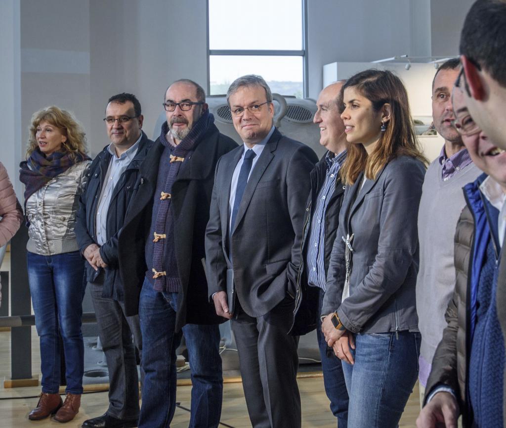 """Retortillo apela al """"orgullo de Barakaldo"""" en  su presentación pública en su campaña por la Alcaldía"""