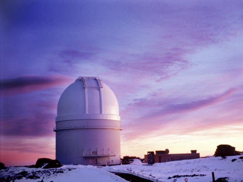 Observatorio astronómico de Calar Alto en Almería.