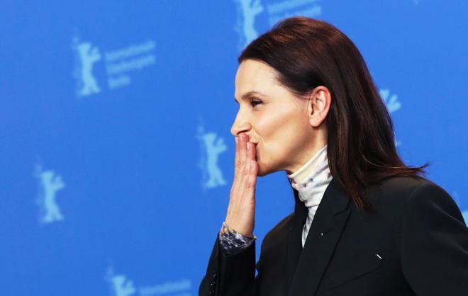 Juliette Binoche posa, este jueves, como presidenta del jurado de la...