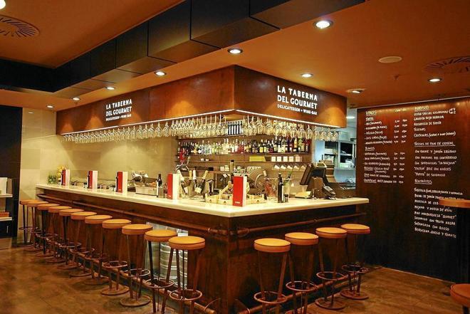 Restaurante gourmet 'La Taberna', propiedad de El Corte Inglés.