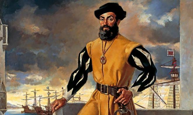 Fernando de Magallanes (Sabrosa 1480-Mactan 1521), marinero español.