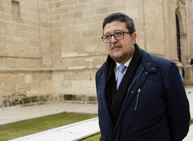 Francisco Serrano, presidente del grupo parlamentario de Vox en Andalucía.