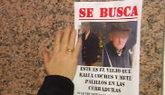 Cartel para la búsqueda del octogenario que rayaba coches en Vigo