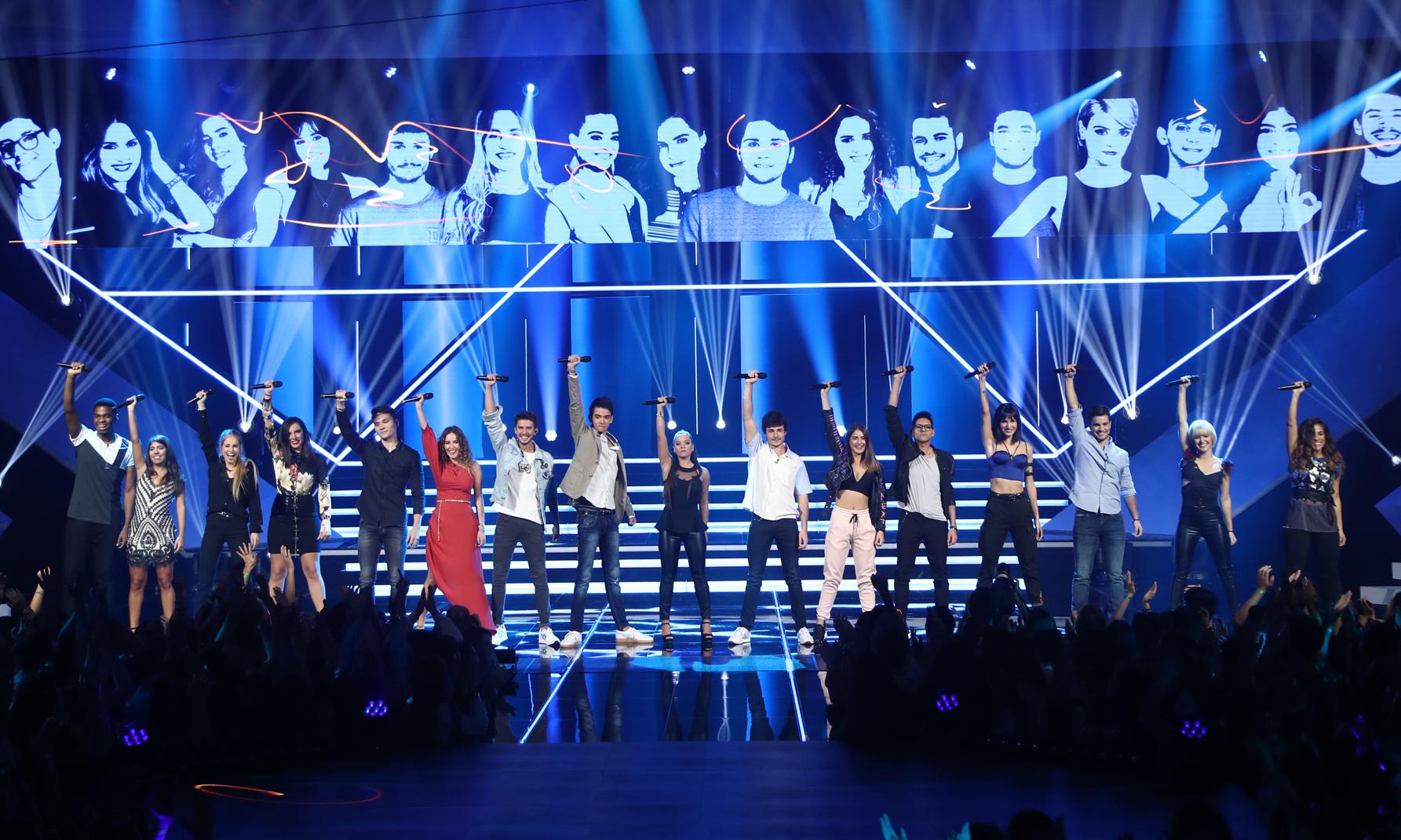 Los concursantes de Operación Triunfo 2018