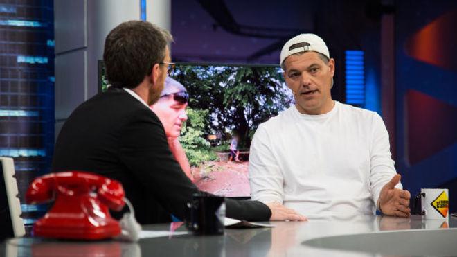 Frank Cuesta, durante su entrevista en El Hormiguero.