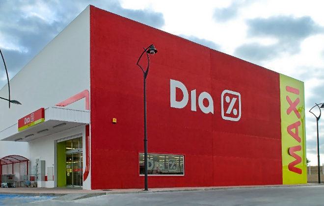 Uno de los establecimientos de la cadena de supermercados Dia.