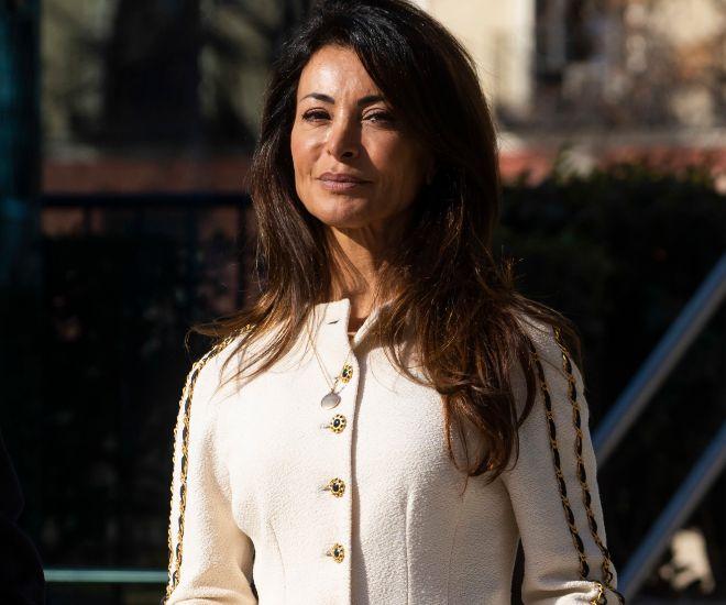 Silvia Gómez-Cuétara, a su llegada a la Audiencia Nacional para...