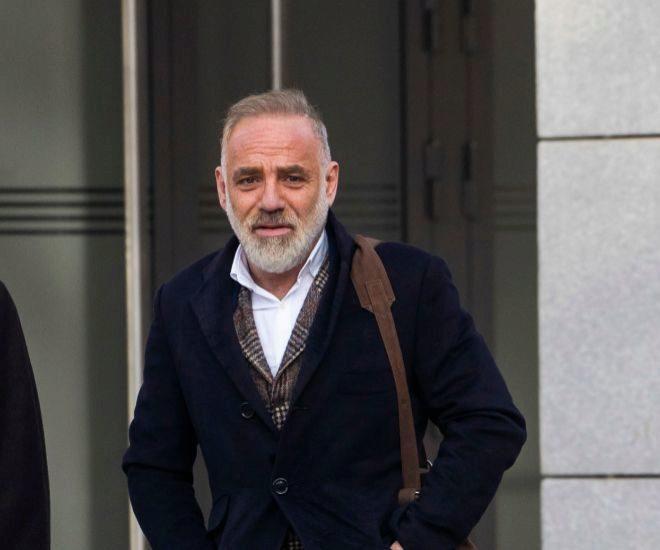 El arquitecto Joaquín Torres, a su llegada a la Audiencia para...