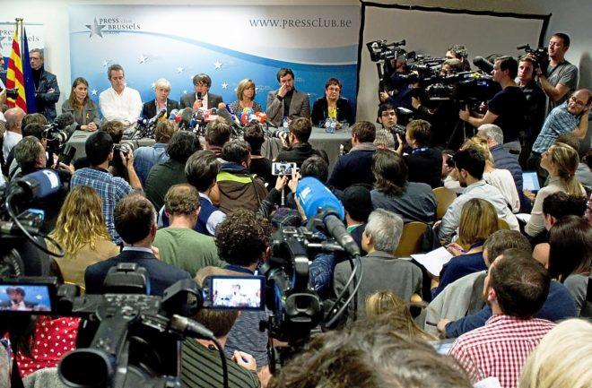 El juicio del 1-O aviva la campaña internacional del 'procés'