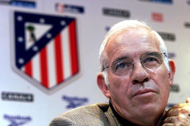 Luis Aragonés, en 2001.