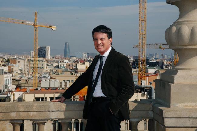 Entrevista al candidato a la Alcaldia de Barcelona Manuel Valls