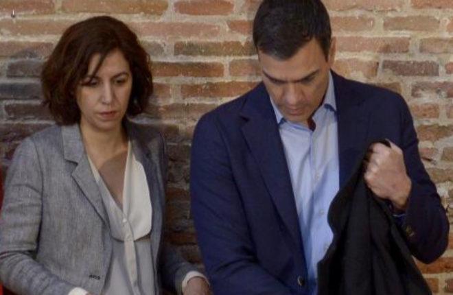 Irene Lozano y Pedro Sánchez, en un acto sobre transparencia y...