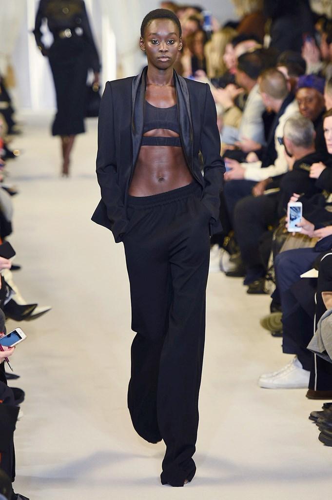 Desfile de Brandon Maxwell · Semana de la moda de Nueva York ·...