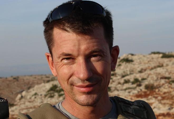 El fotoperiodista británico John Cantlie en una imagen de 2012.