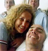 Luis de Marcos y su mujer, Asun Gómez Bueno, meses antes del...
