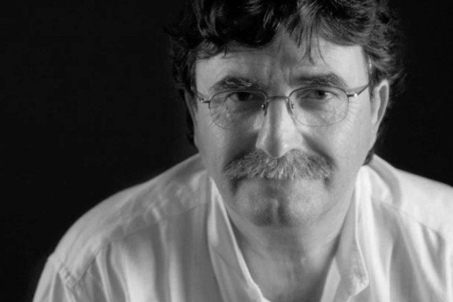 El escritor canario de novela negra Antonio Lozano.