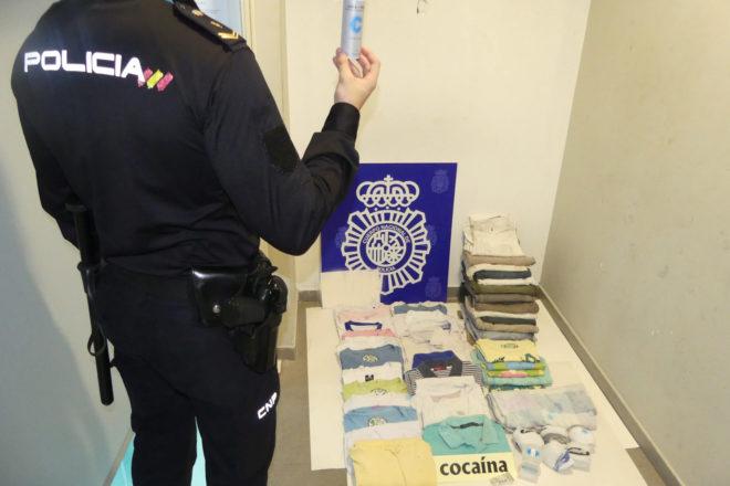 Material incautado por el Cuerpo Nacional de Policía