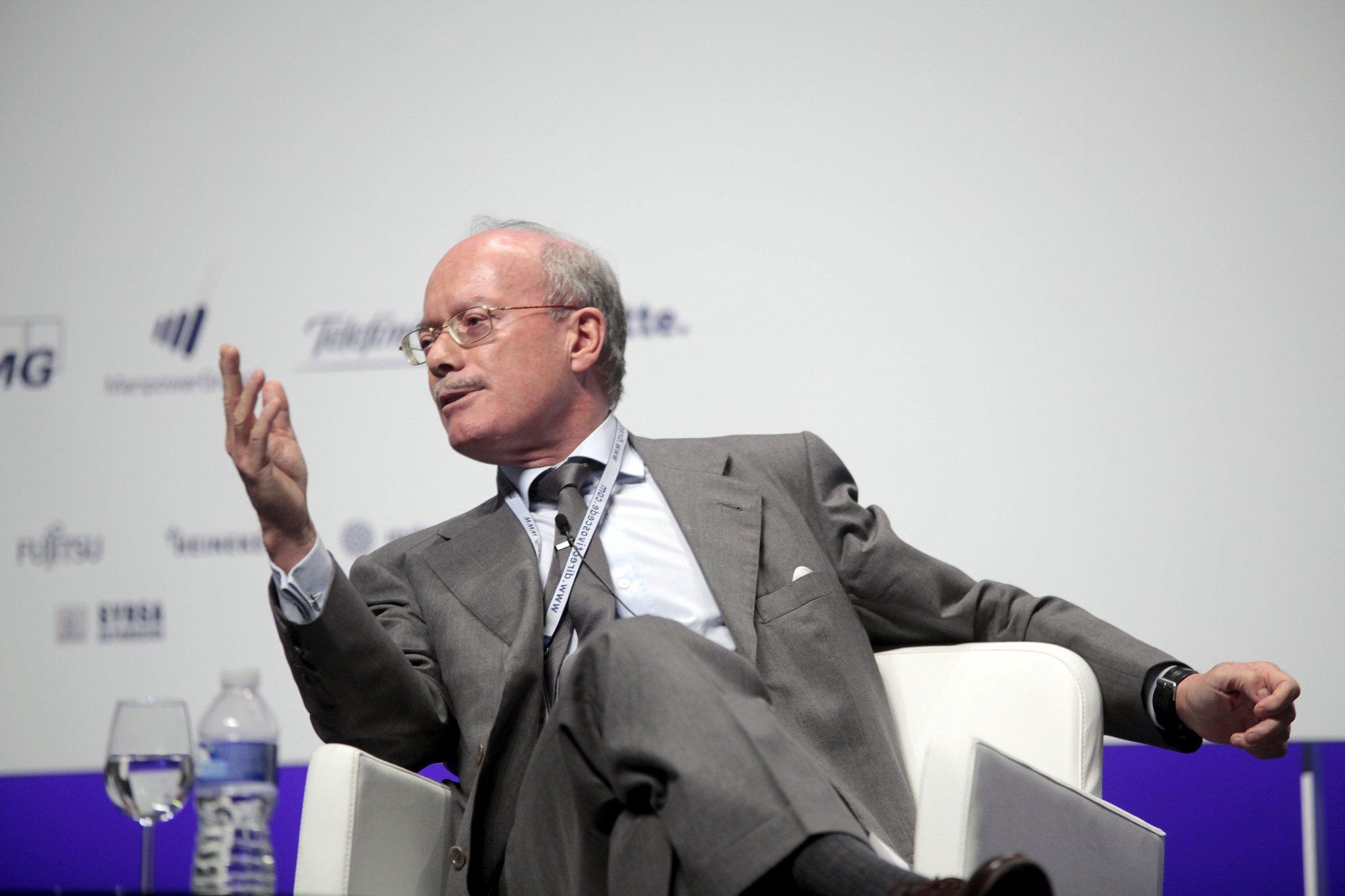 El presidente del Instituto de Estudios Económicos, José Luis Feito.