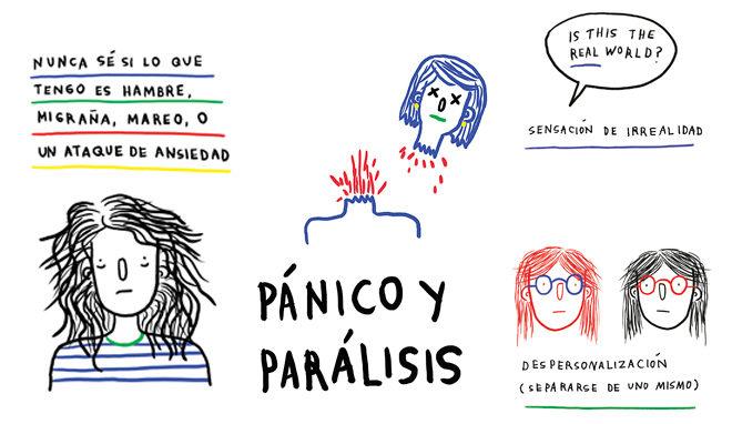 Viñetas de 'Cosas que piensas cuando te muerdes las uñas'.