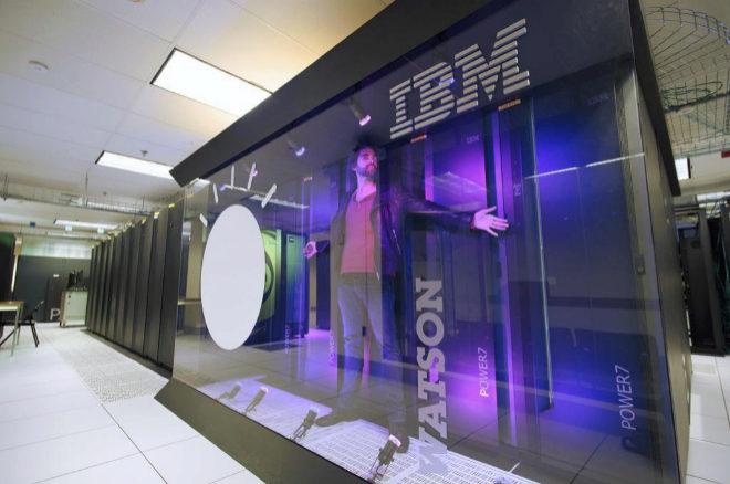 Watson, el sistema informático de inteligencia artificial de IBM.