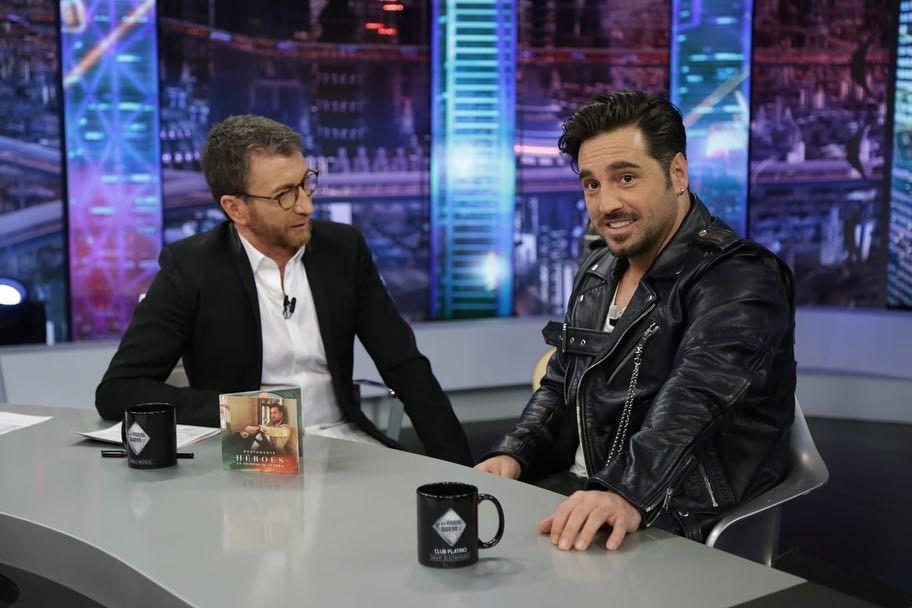El cantante David Bustamante visitó El Hormiguero, presentado por...