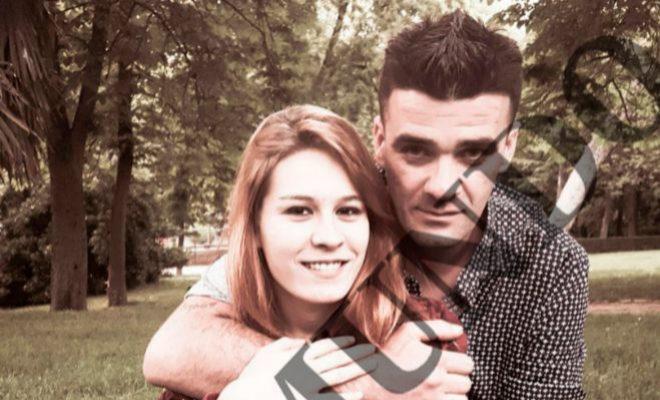 La fallecida Daría y su supuesto asesino, Manuel, en una foto de 2016.