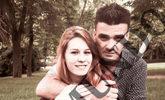 La fallecida Daría y su supuesto asesino, Manuel, en una foto de...
