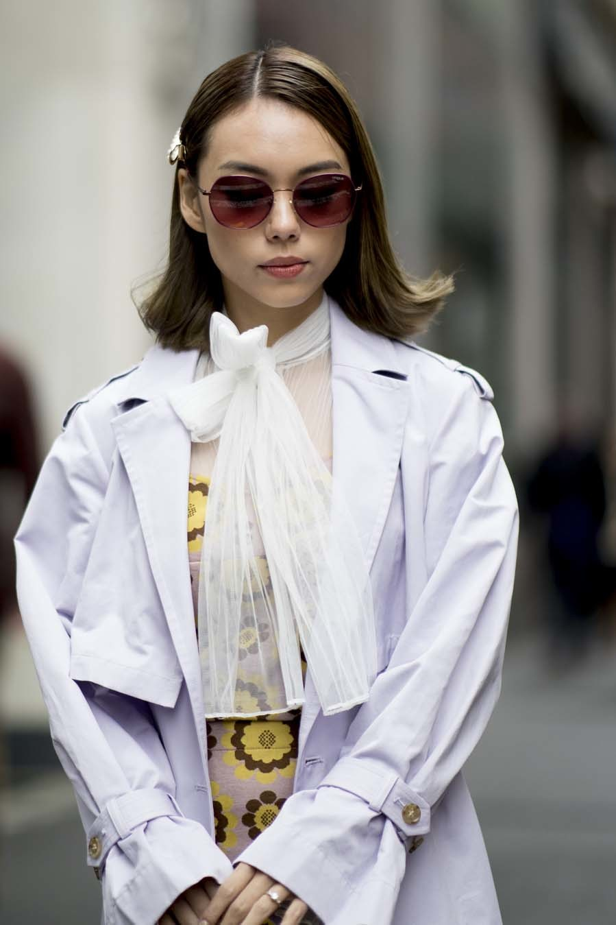 Así llevarás las horquillas - Street Style de la New York Fashion Week