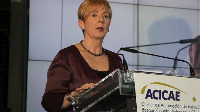 Arantxa Tapia, consejera de Desarrollo Económico.