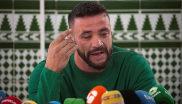 David Serrano Alcaide, dueño de la finca de Totalán (Málaga), en la...
