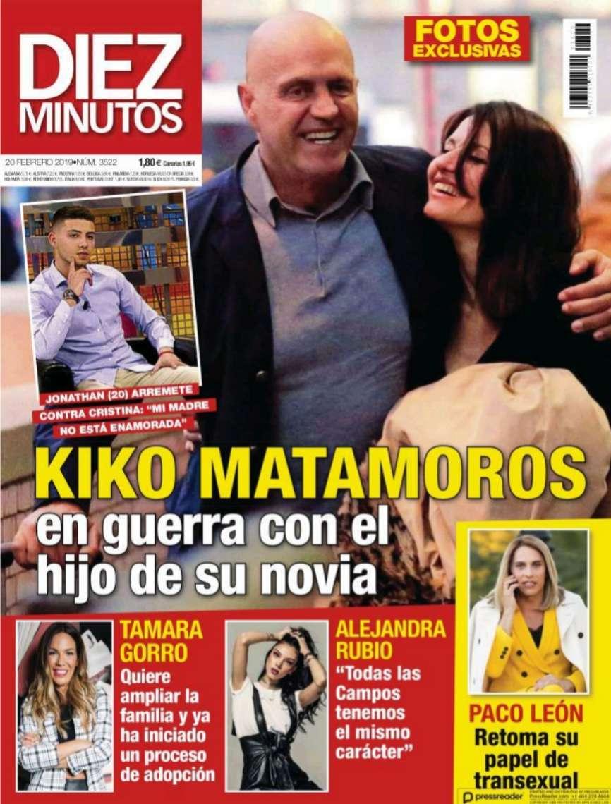 Kiko Matamoros, en guerra con el hijo de su novia