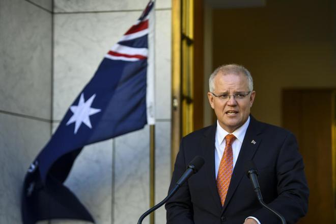 Scott Morrison, primer ministro australiano.