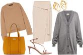 Prendas elegantes, sofisticadas y confortables para ir a la oficina o...