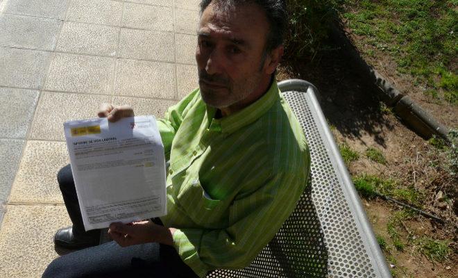 Tomás muestra su informe de vida laboral con 35 años, 9 meses y 1 día cotizados.