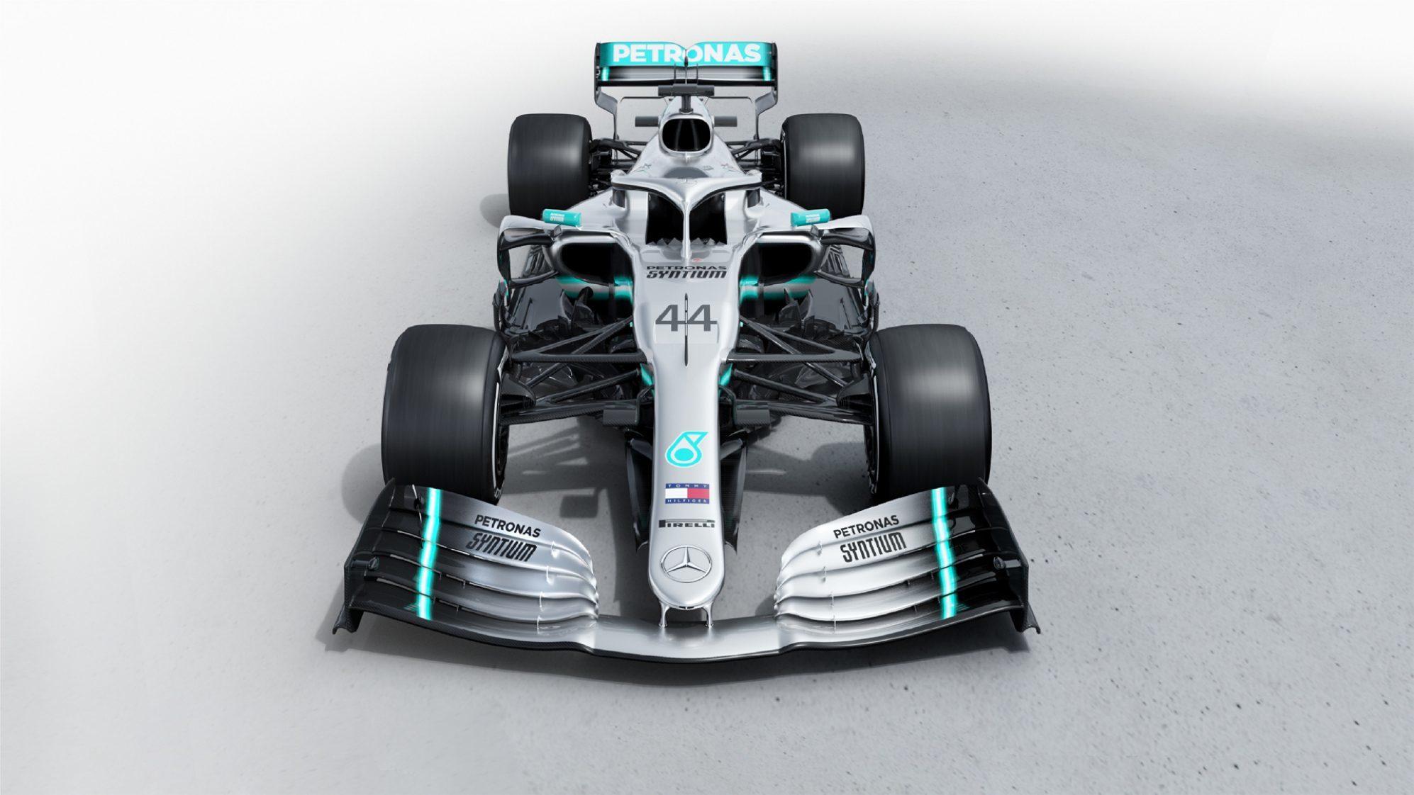 Mercedes, Red Bull y Racing Point presentan sus modelos para 2019