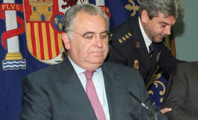 Juan Cotino, en 2002, cuando era director general de la Policía.