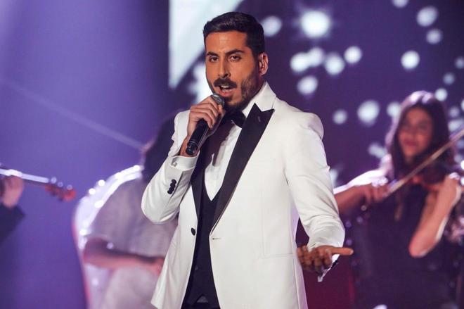 Kobi Marimi durante su actuación en el programa 'La Próxima Estrella de Eurovisión'.