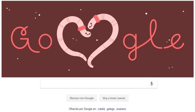 Google también celebra San Valentín