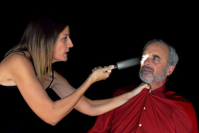 Silvia Valero i Diego Braguinsky protagonitzen amb Jairo Carrasco 'Plagi'.