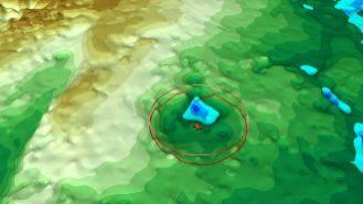 Descubren otro posible cráter gigante bajo el hielo de Groenlandia