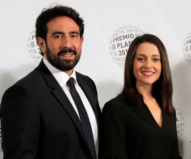 Xavier Cima e Inés Arrimadas en una imagen de archivo
