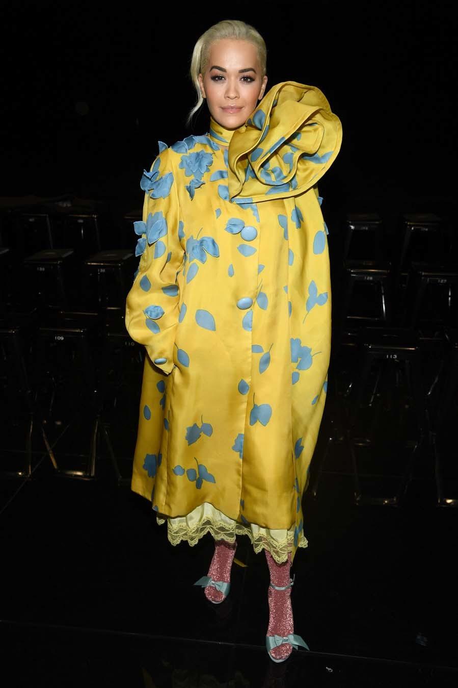 Rita Ora en el desfile de Marc Jacobs - New York Fashion Week
