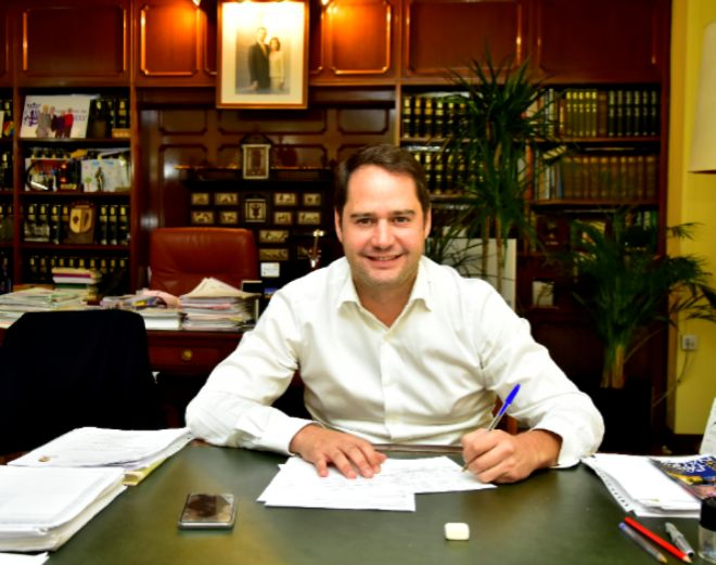 Ignacio Vázquez, alcalde de Torrejón de Ardoz.