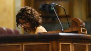 La ministra de Hacienda, María Jesús Montero, el miércoles en el...
