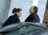 El presidente del tribunal, Manuel Marchena, a su llegada al Tribunal...