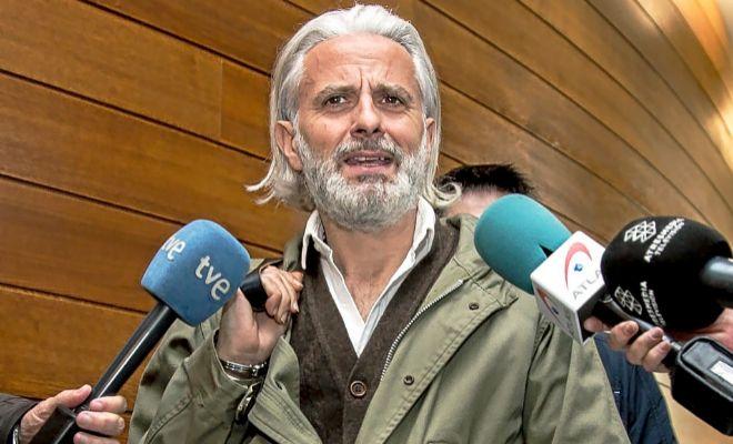 Marcos Benavent en una de sus comparecencias en las Cortes Valencianas.