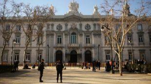 Sede del Tribunal Supremo, donde se juzga a los organizadores del...