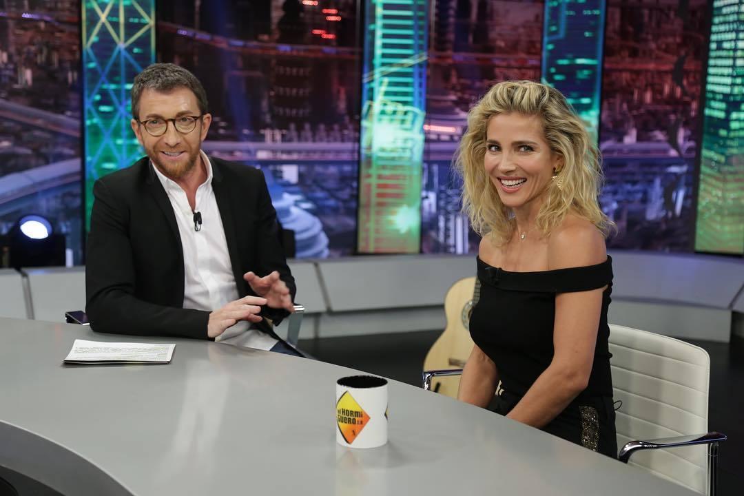 Pablo Motos y Elsa Pataky, que presentó su 'fashion film' en El...